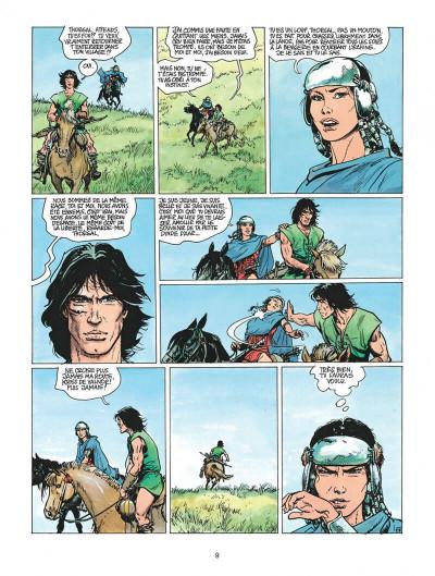Page 9 thorgal tome 19 - la forteresse invisible