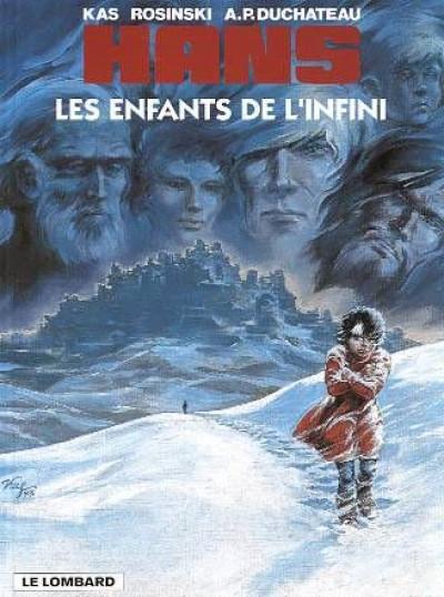 Couverture Hans tome 7 - les enfants de l'infini