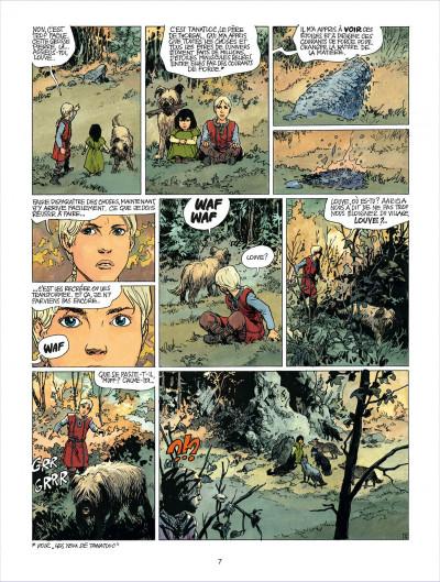 Page 7 thorgal tome 20 - la marque des bannis