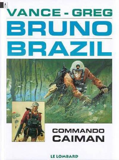 Couverture bruno brazil tome 2 - commando caiman