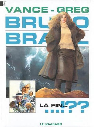Couverture bruno brazil tome 11 - la fin