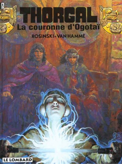 Couverture thorgal tome 21 - la couronne d'ogotai