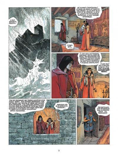 Page 3 thorgal tome 21 - la couronne d'ogotai