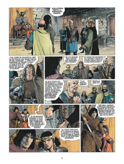 Page 4 thorgal tome 21 - la couronne d'ogotai