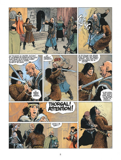 Page 5 thorgal tome 21 - la couronne d'ogotai