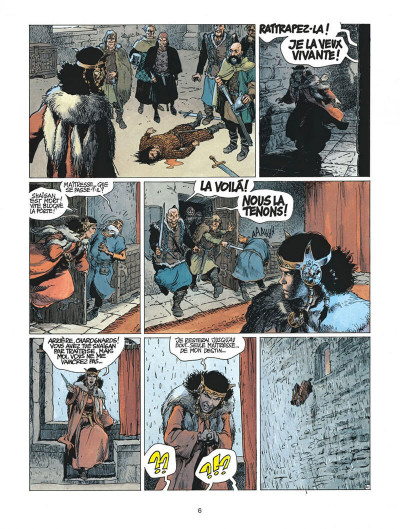 Page 6 thorgal tome 21 - la couronne d'ogotai