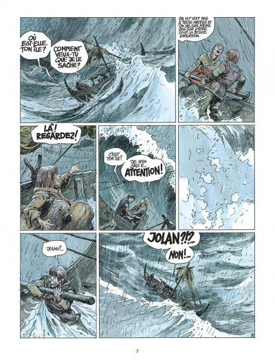 Page 7 thorgal tome 21 - la couronne d'ogotai