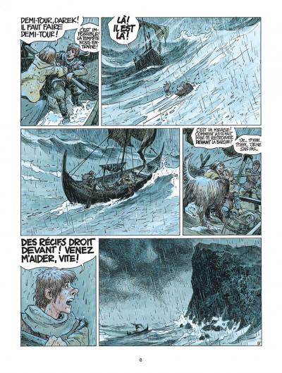 Page 8 thorgal tome 21 - la couronne d'ogotai