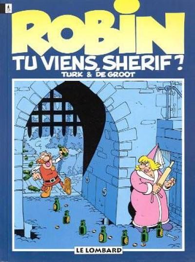 Couverture robin dubois tome 17 - tu viens shérif