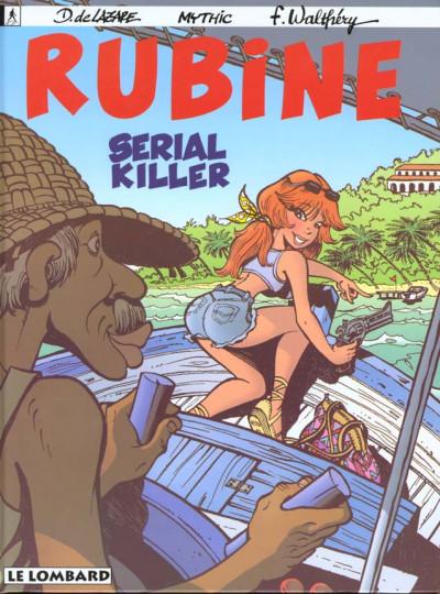 Couverture rubine tome 4 - serial killer