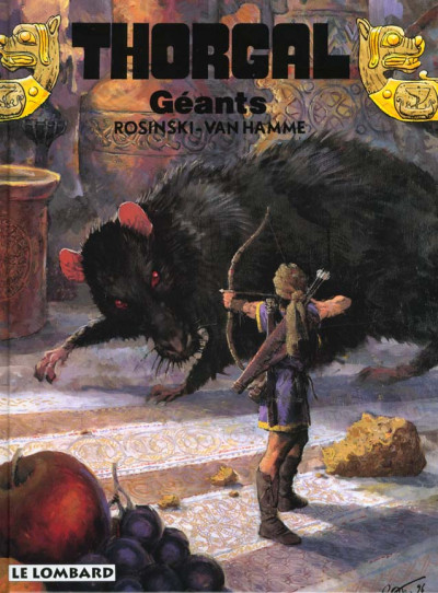 Couverture thorgal tome 22 - geants