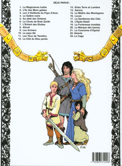 Dos thorgal tome 22 - geants
