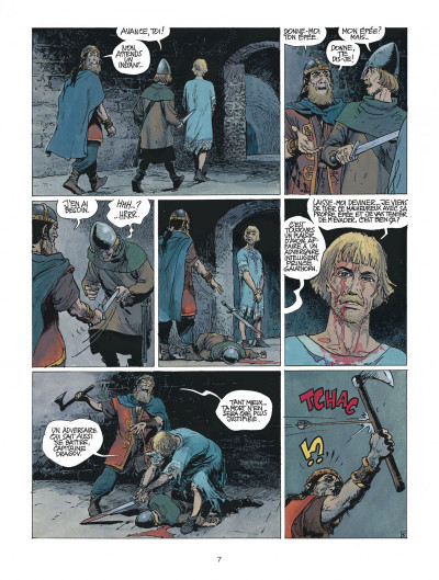 Page 7 thorgal tome 22 - geants