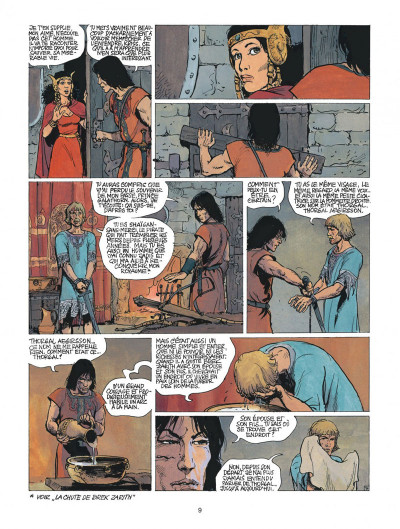 Page 9 thorgal tome 22 - geants