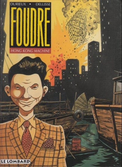 Couverture foudre tome 3 - hong kong machine