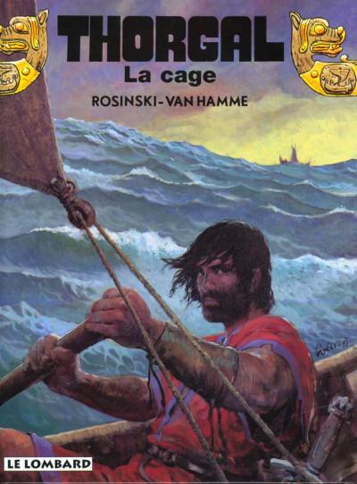 Couverture thorgal tome 23 - la cage
