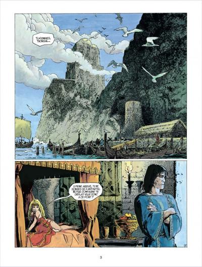 Page 3 thorgal tome 23 - la cage