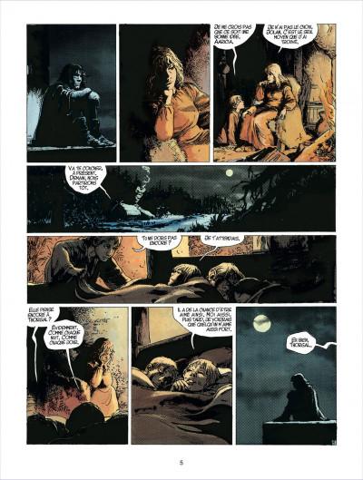 Page 5 thorgal tome 23 - la cage