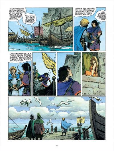 Page 8 thorgal tome 23 - la cage