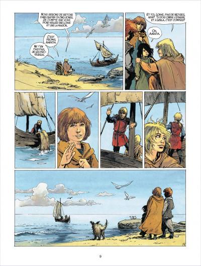 Page 9 thorgal tome 23 - la cage