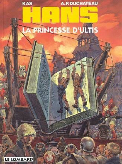 Couverture Hans tome 9 - la princesse d'ultis