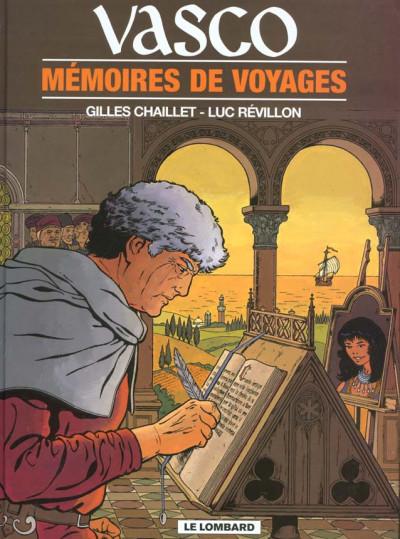 Couverture vasco tome 16 - mémoires de voyages