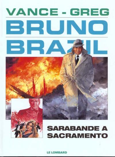 Couverture bruno brazil tome 6 - sarabande à sacramento