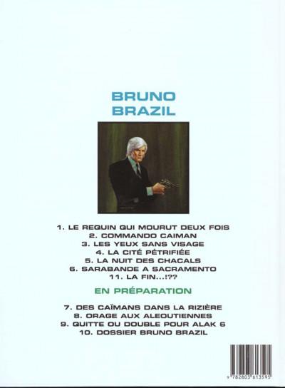 Dos bruno brazil tome 6 - sarabande à sacramento