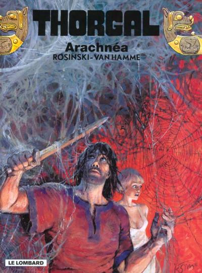 Couverture thorgal tome 24 - arachnea