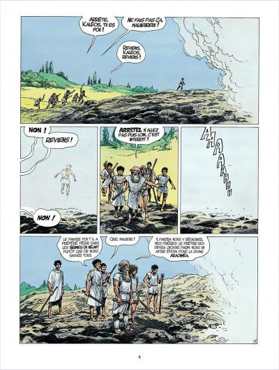 Page 4 thorgal tome 24 - arachnea