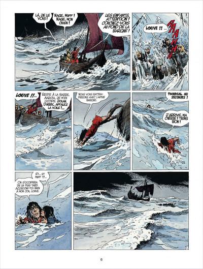 Page 6 thorgal tome 24 - arachnea