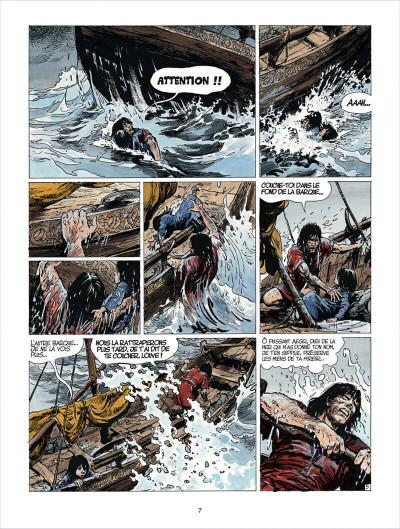 Page 7 thorgal tome 24 - arachnea