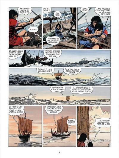 Page 8 thorgal tome 24 - arachnea