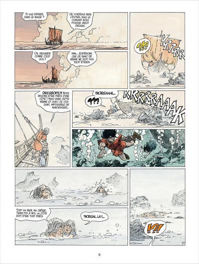 Page 9 thorgal tome 24 - arachnea