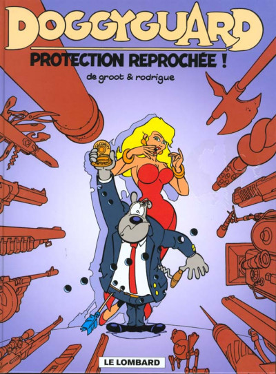 Couverture Doggyguard tome 1 - Protection reprochée