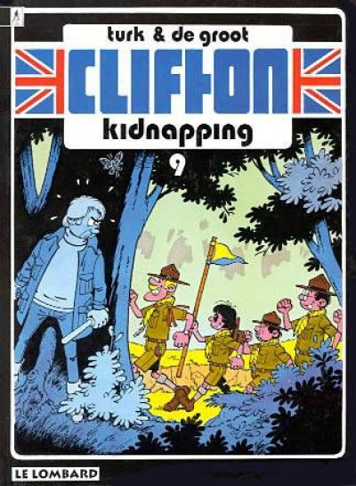 Couverture clifton tome 9 - kidnapping