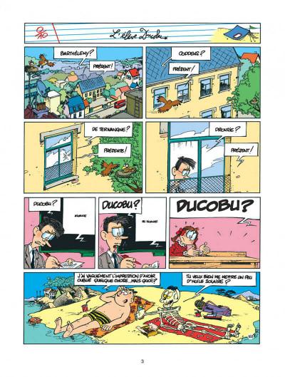 Page 3 l'élève ducobu tome 5 - le roi des cancres