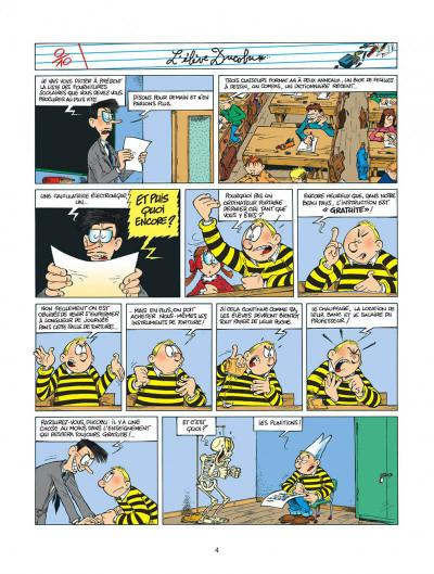 Page 4 l'élève ducobu tome 5 - le roi des cancres