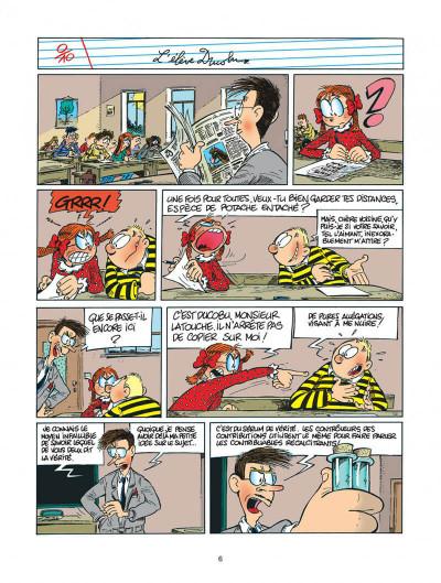 Page 6 l'élève ducobu tome 5 - le roi des cancres