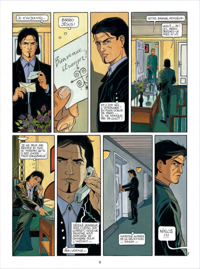 Page 9 niklos koda tome 2 - le dieu des chacals