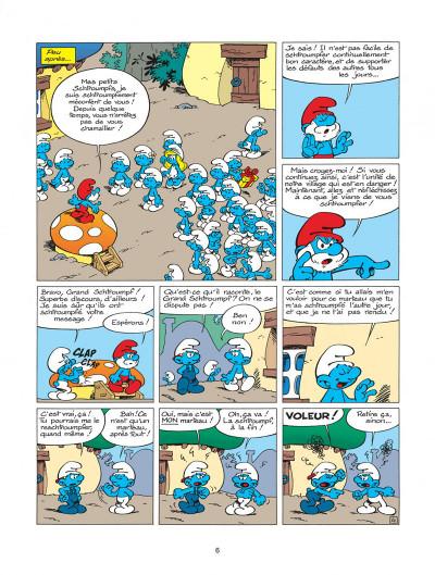Page 6 les schtroumpfs tome 20 - la menace schtroumpf
