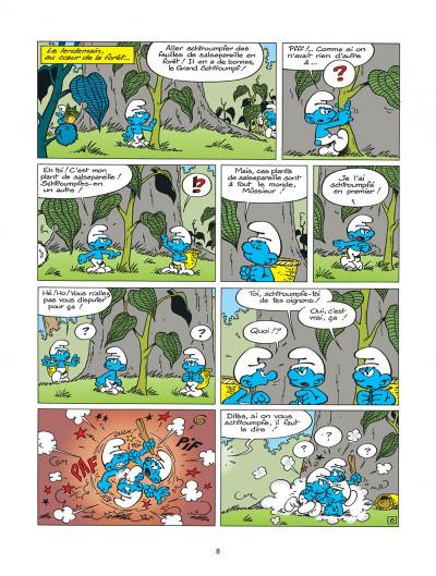 Page 8 les schtroumpfs tome 20 - la menace schtroumpf