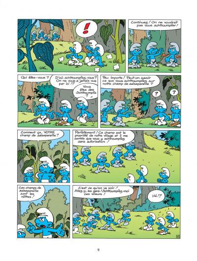 Page 9 les schtroumpfs tome 20 - la menace schtroumpf