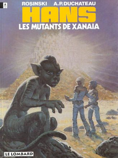 Couverture hans tome 3 - les mutants de xanaia
