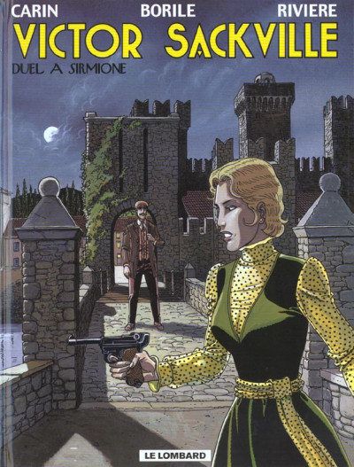 Couverture victor sackville tome 16 - duel a sirmione