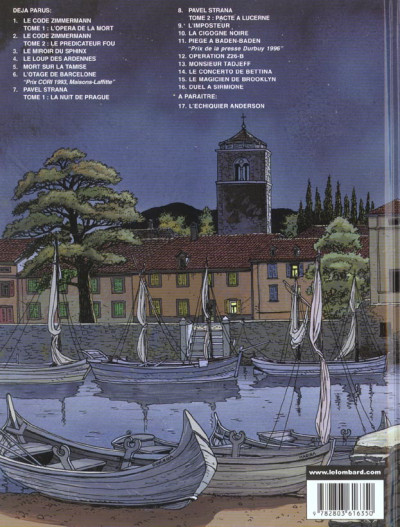 Dos victor sackville tome 16 - duel a sirmione