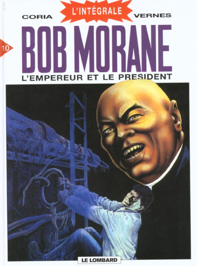 Couverture bob morane - intégrale tome 10 - l'empereur et le président