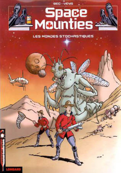 Couverture Space mounties tome 1