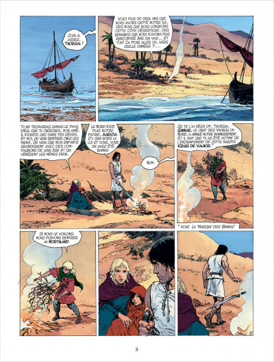 Page 3 thorgal tome 26 - le royaume sous le sable