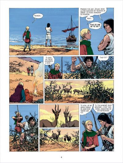 Page 4 thorgal tome 26 - le royaume sous le sable